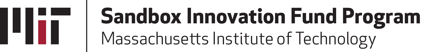 MIT Sandbox Innovation Fund Program