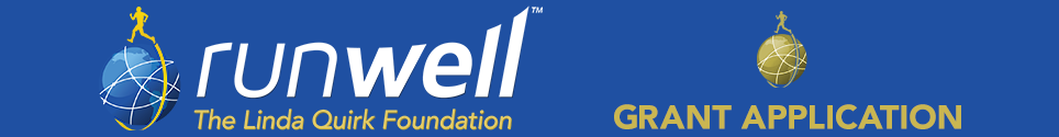 RUNWELL GRANT APPLICATION