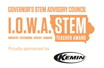 I.O.W.A. STEM Teacher Award