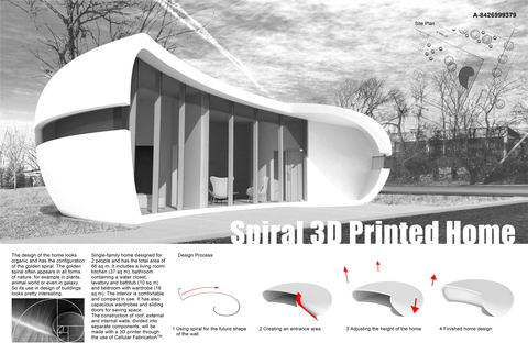 Spiral 3D Printed Home