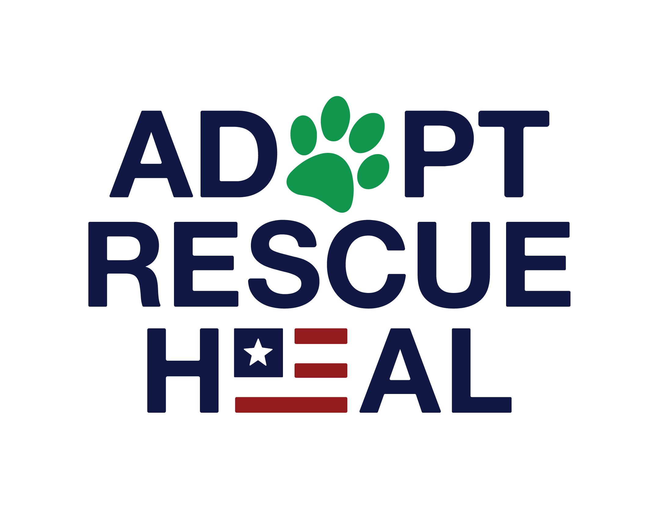 Adopt Rescue Heal logo