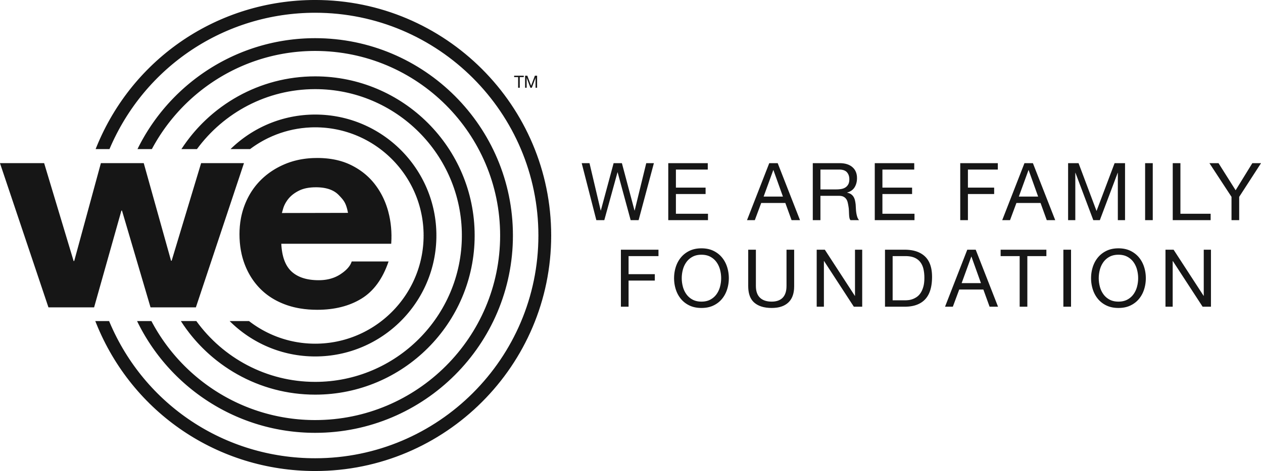 We Are Family Foundation Application Portal logo