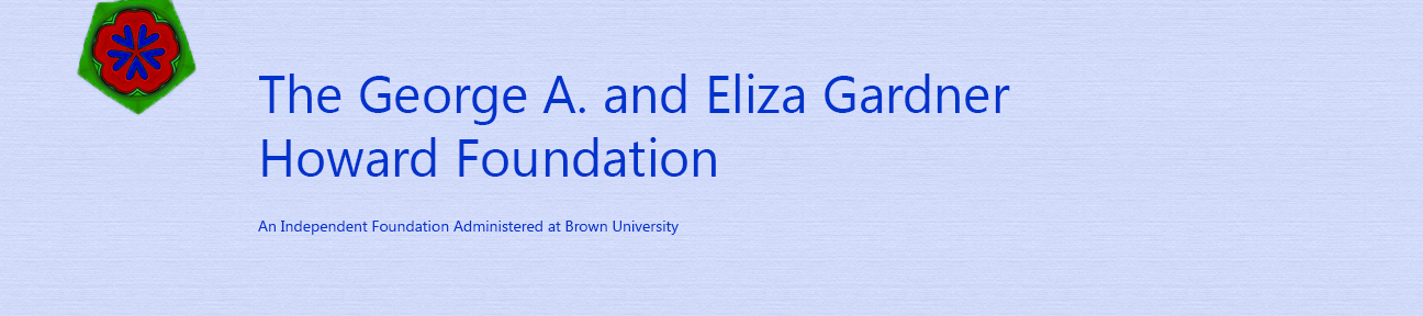 The George A. and Eliza Gardner Howard Foundation Fellowship Application Portal logo