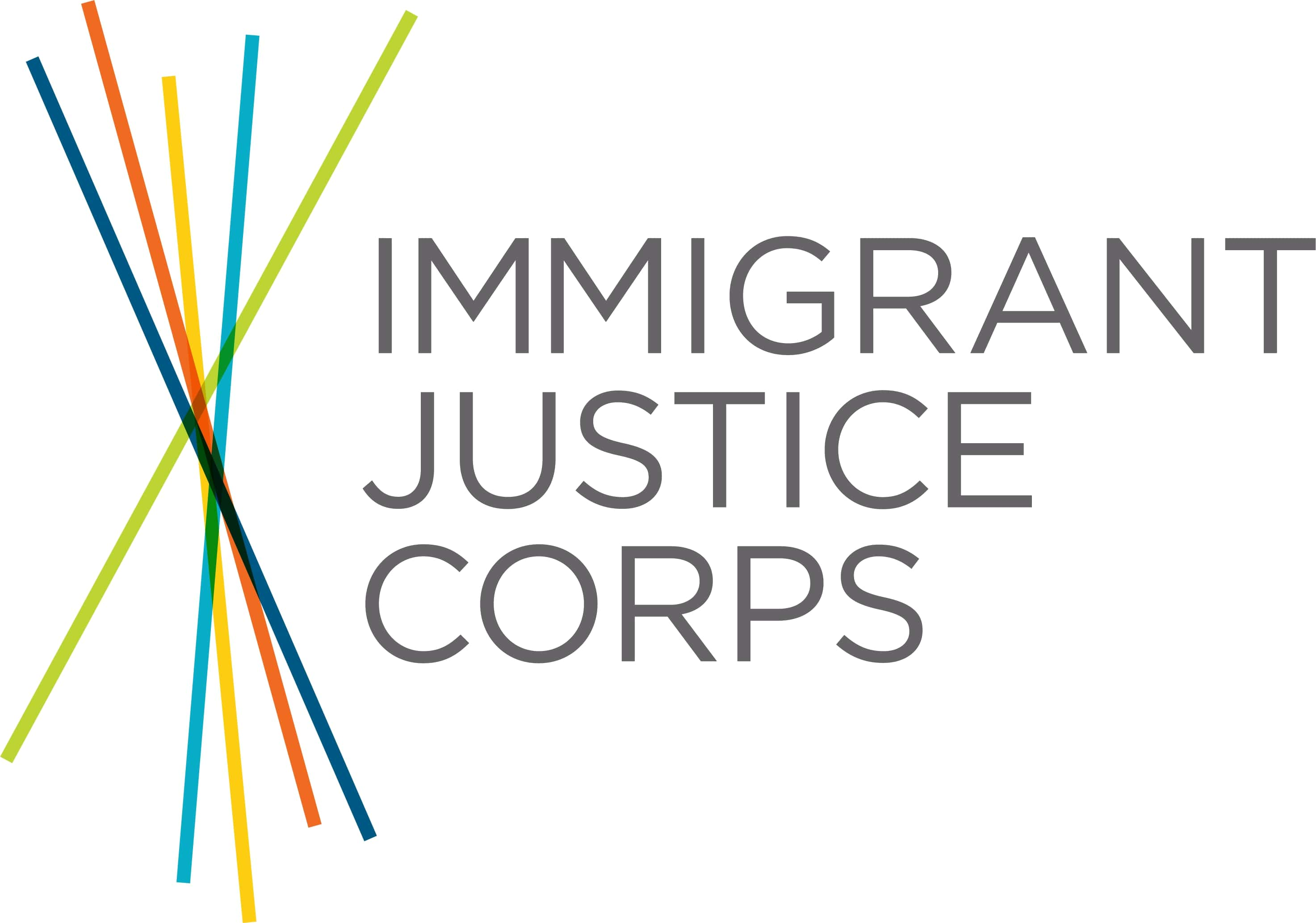 Immigrant Justice Corps - Application Portal logo