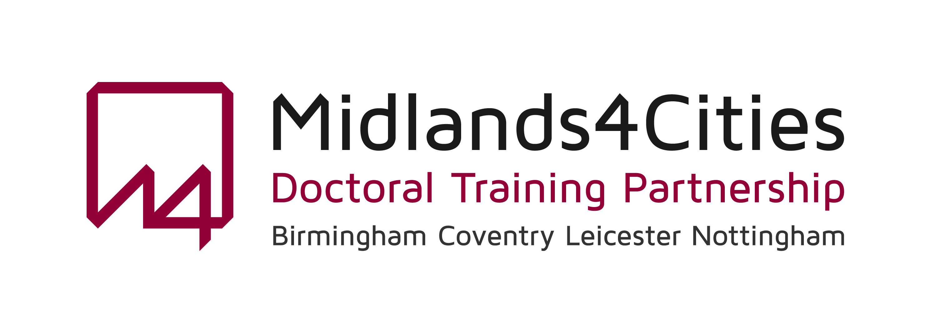 Midlands4Cities Doctoral Training Partnership logo